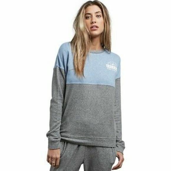 Volcom Lil Crew Pullover Sweater Medium